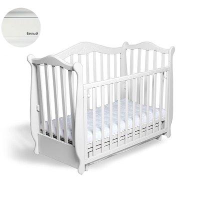 Кроватка Колисани Жасмин белый