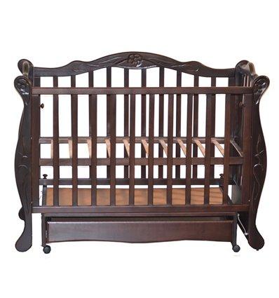 Кроватка Колисани Цветочек шоколад