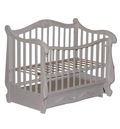 Кроватка Колисани Корона белый