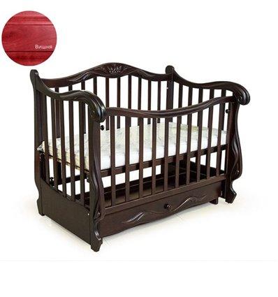 Кроватка Колисани Корона вишня