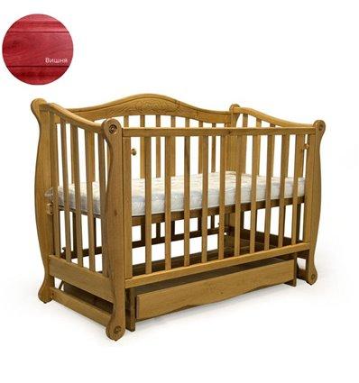 Кроватка Колисани Ляля вишня