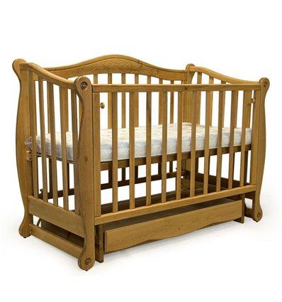 Кроватка Колисани Ляля натуральный