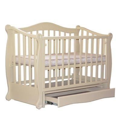 Кроватка Колисани Ляля слоновая кость