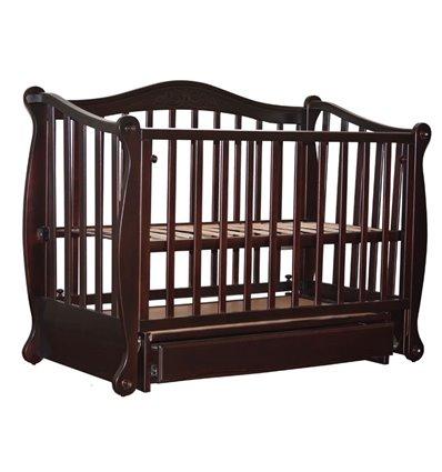 Кроватка Колисани Ляля шоколад