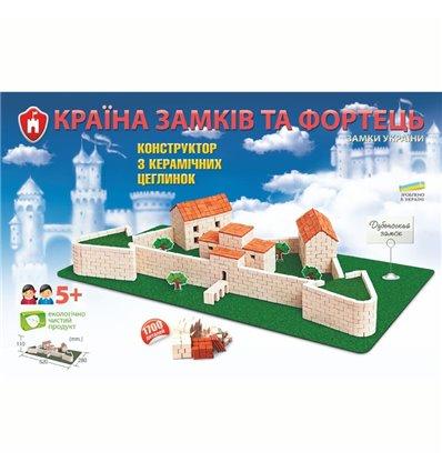 Конструктор из керамических кирпичиков Дубенский замок