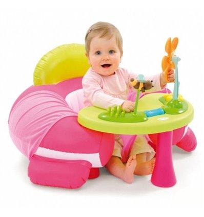 Развивающий стол со стульчиком Smoby Cotoons 110201R