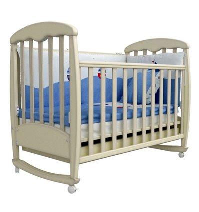 Кроватка Верес Соня ЛД1, Цвет-патина дуб молочный