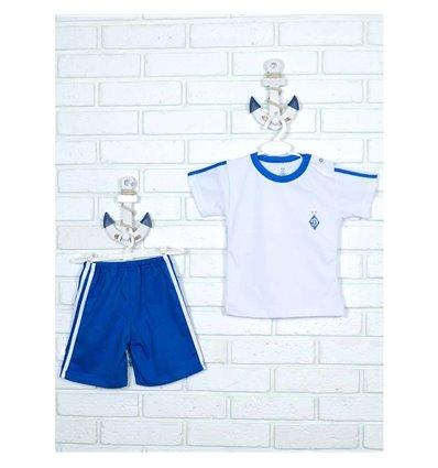 Комплект Татошка 08164 білий/блакитний Динамо