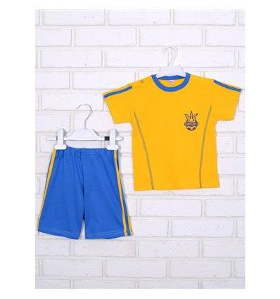 Комплект Татошка 08166 жовтий/блакитний