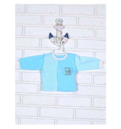 Кофточка Татошка 04902 голубой мишка