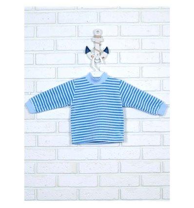 Гольф Татошка 02302 блакитний-білий полоска