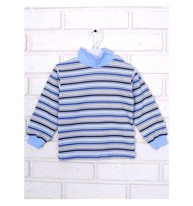 Гольф Татошка 02802 голубой-синий-серый-белый
