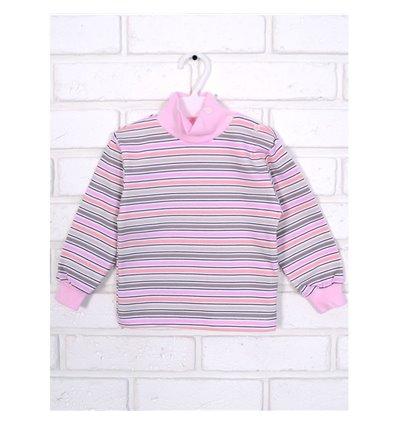 Гольф Татошка 02802 розовый-бежевый-персиковый-белый