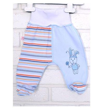 Повзунки Татошка 03507 блакитний-синій-принт полоска
