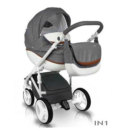 Детская коляска 2 в 1 Bexa Ideal New IN01