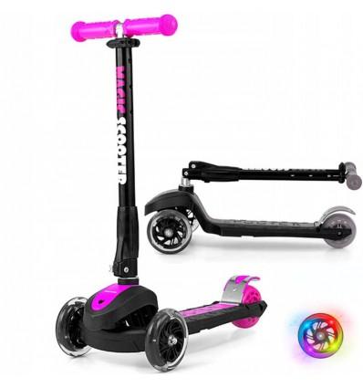 Самокат триколісний Milly Mally Scooter Magic Pink