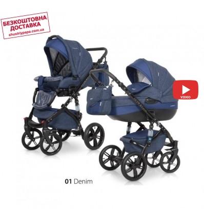 Детская коляска 2 в 1 Riko Brano Natural 01