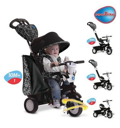 Трехколесный велосипед Smart Trike Chic 4 в 1 - Смарт Трайк Чик