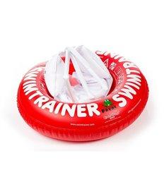 Надувной круг Swimtrainer Красный