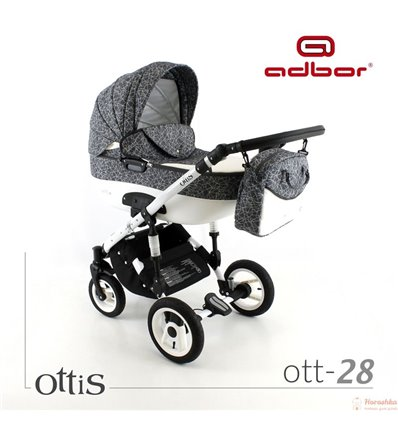 Детская коляска 2 в 1 Adbor Ottis 28
