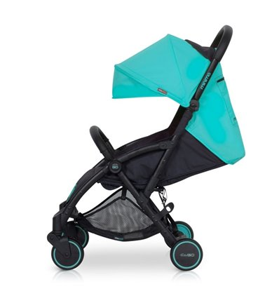 Детская прогулочная коляска EasyGo Minima Malachite