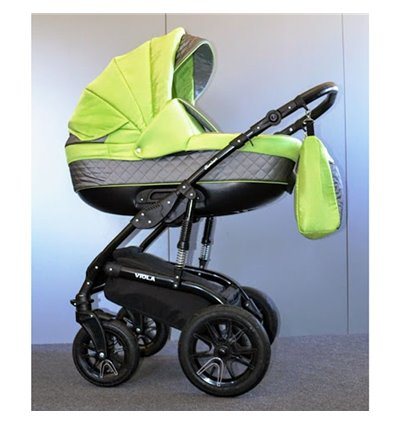 Дитяча коляска 2 в 1 Ajax Group Viola Lime