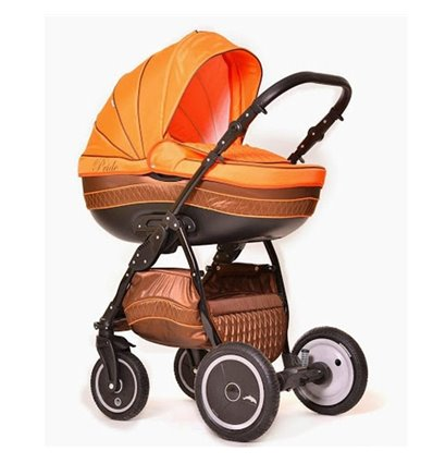Дитяча коляска 2 в 1 Ajax Group Pride Orange