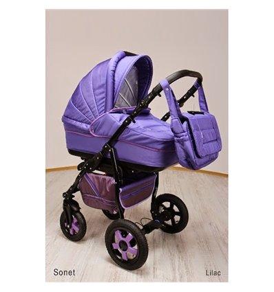 Дитяча коляска 2 в 1 Ajax Group Sonet New Lilac