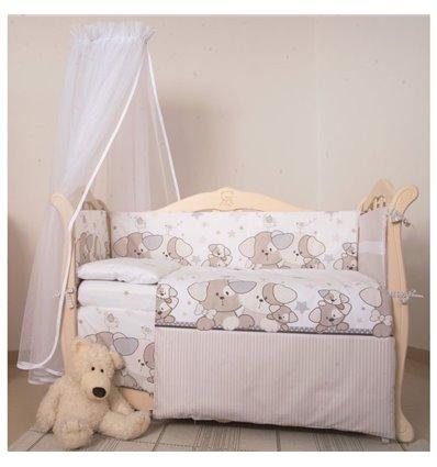 Детский постельный комплект Twins Eco Line 6 элементов E-014