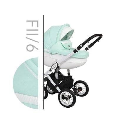 Детская коляска 2 в 1 Baby Merc Faster Style 2 06