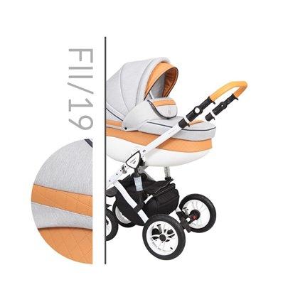 Детская коляска 2 в 1 Baby Merc Faster Style 2 19