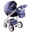 Детская коляска 2 в 1 Adamex Monte Deluxe Carbon D22