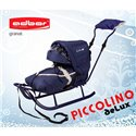 Санки Adbor Piccolino Delux синие