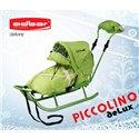 Санки Adbor Piccolino Delux зеленые