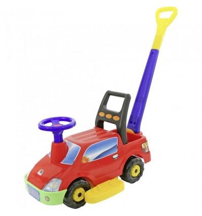 Автомобіль-каталка Пікап (зі звуковим сигналом і ручкою) Polesie 3552