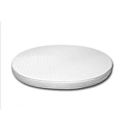Матрац IngVart для ліжечок Baggybed Oval Кокос+флексовойлок, 60x71 см 6016