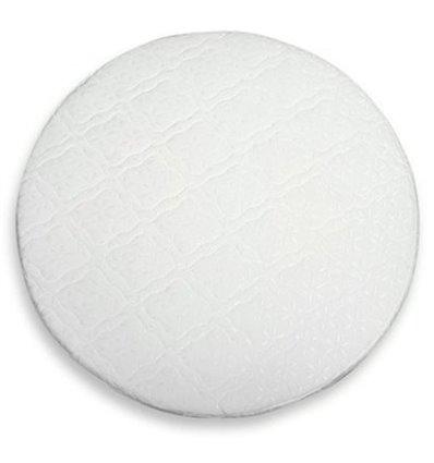 Матрас IngVart для кроваток Baggybed Round Кокос+флексовойлок, 72x72 см 7216