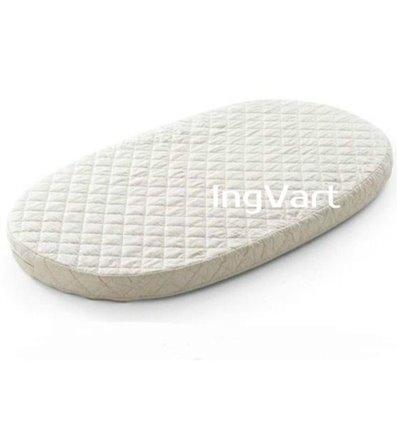 Матрас IngVart для кроваток Baggybed Round Кокос+латекс, 72x120 см 7227