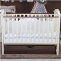 Детская кроватка Twins iLove слоновая кость/орех