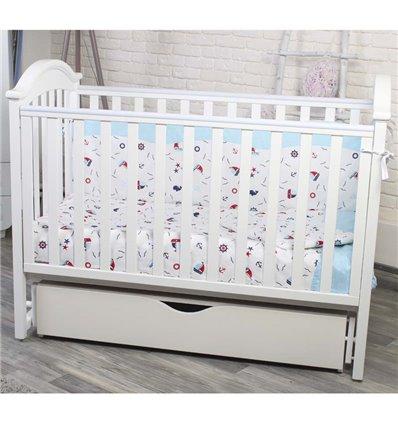 Детская кроватка Twins iLove белый