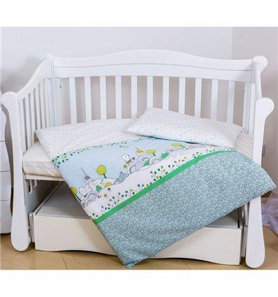 Детская сменная постель Twins Eco Line E-010 Village