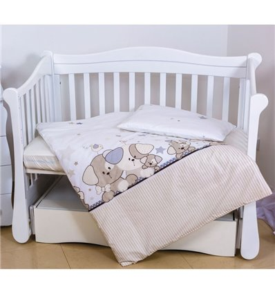 Дитяча змінна постіль Twins Eco Line E-014 Cute Dog