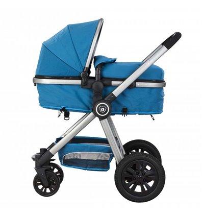 Детская коляска трансформер Gmini Grand Petrol Grey