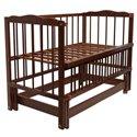 Детская кроватка Колисковий Світ Малятко без ящика Яблоня