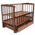 Детская кроватка Колисковий Світ Малятко с ящиком Яблоня
