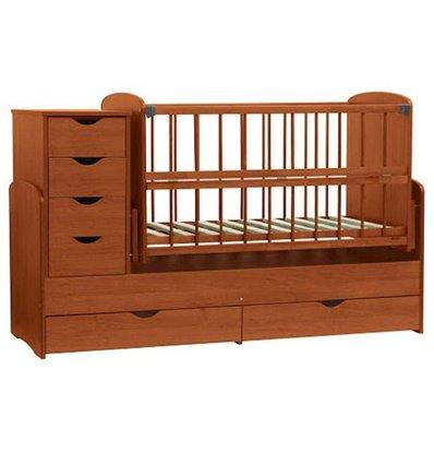 Детская кроватка-трансформер Колисковий світ Яблоня