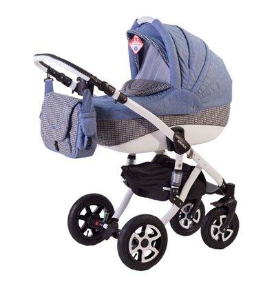 Детская коляска 2 в 1 Adamex Erika 646K