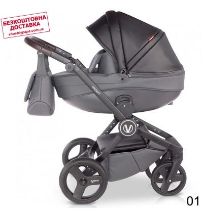 Детская коляска 2 в 1 Verdi Expert Eco Line 01 Black