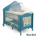 Манеж кровать Milly Mally Mirage Deluxe Blue Bird