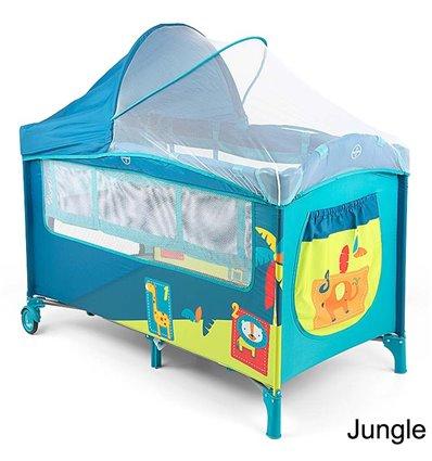 Манеж ліжечко Milly Mally Mirage Deluxe Jungle